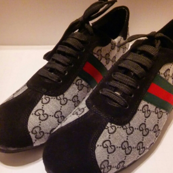 Mens Gucci Shoes 501 Casual Lace Ups