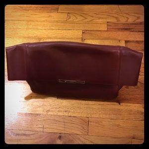 celine phantom bag white - 45% off Celine Handbags - Burgundy Celine Foldover Clutch from ...