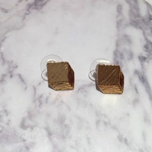 Jewelry - Karine Sultan Geo Cube Earrings