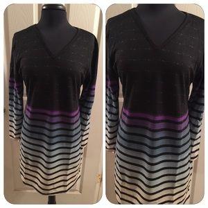 Dresses & Skirts - Aqua Ombré Sweater Dress