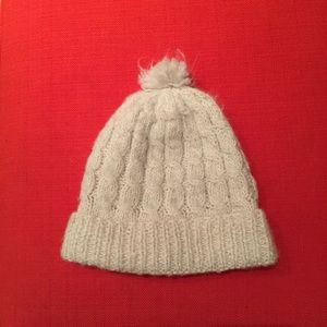 Accessories - Alpine white alpaca winter hat