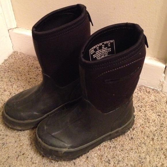 2824436d9eb WATERPROOF BOYS LUME Snow/Rain Boots