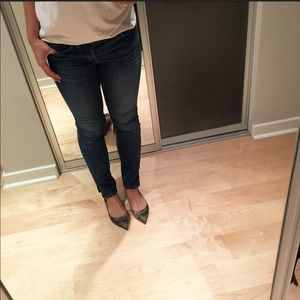 Madewell Denim - Madewell ankle length zipper denim size 27