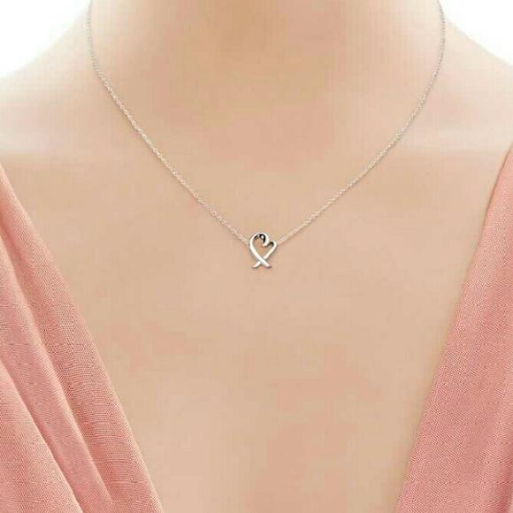 bcf6d86d1 Tiffany & Co. Jewelry   Tiffany Co Loving Heart Necklace   Poshmark