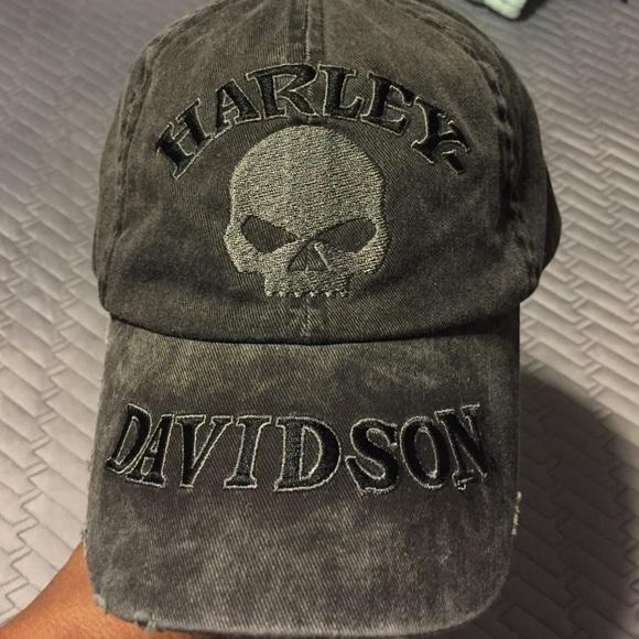 894dd98550e62 Harley Davidson Accessories - Harley Davidson Hat Skull Cap