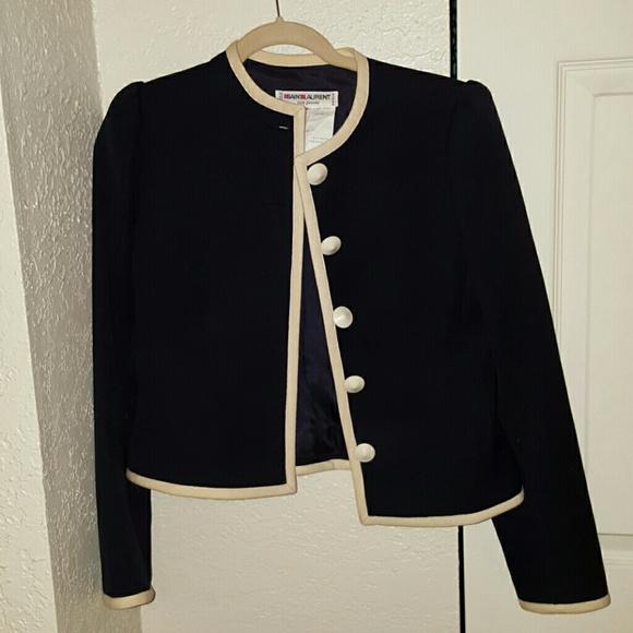 Yves Saint Laurent Jackets & Blazers - Saint Laurent vintage Jackie O style blazer