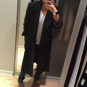 London Fog Jackets & Blazers - Grey Wool overcoat by London fog