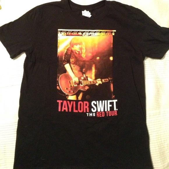 0e13a72f8 Tops | Taylor Swift Red Tour Concert Tshirt | Poshmark