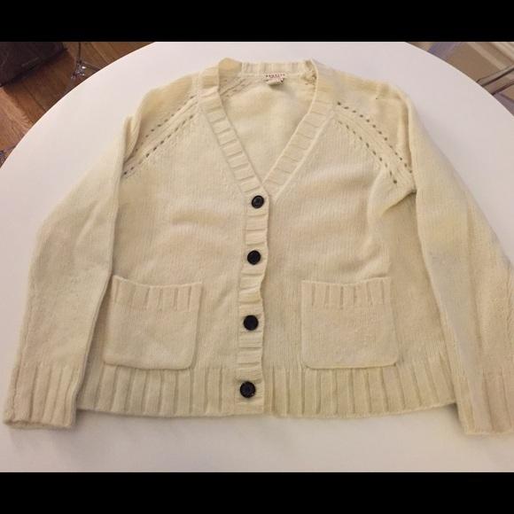 87% off Demylee Sweaters - Demylee Steven Alan soft white cardigan ...
