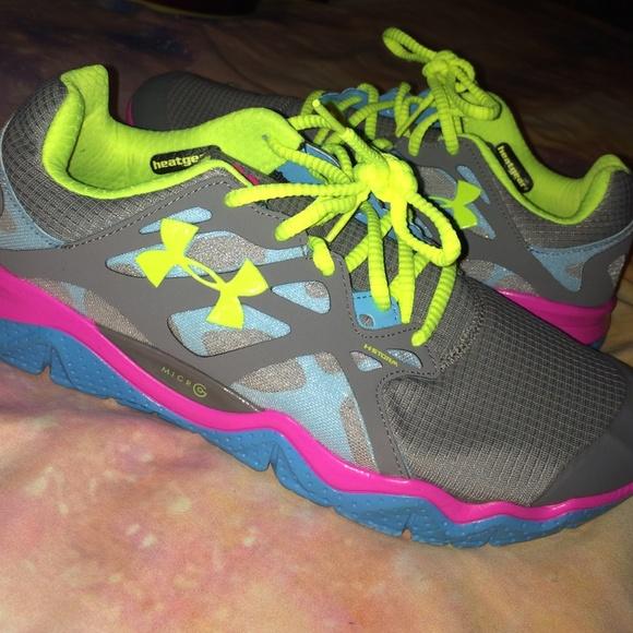 under armour 4d foam running shoe