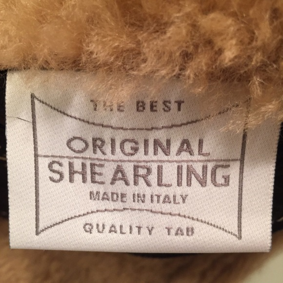 86% off Artico Jackets & Blazers - Shearling and leather jacket ...