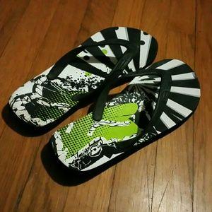 6a8625adfeb2 Fox Shoes - Fox Flip Flops Mens 11