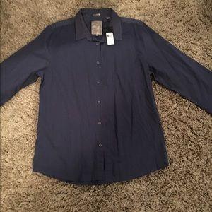 GUESS Mens Dress Shirt