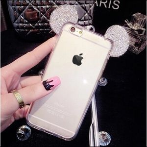 Mickey Mouse ears iPhone Case 6 plus