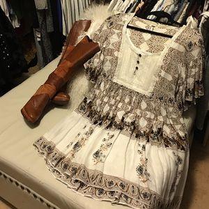 Free People Dresses & Skirts - Free People boho short dress