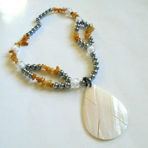 Jewelry - Silver Seashell Necklace