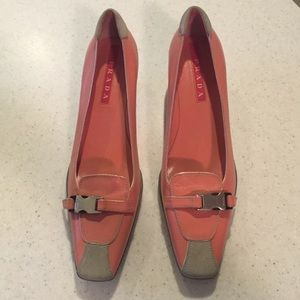 prada handbag black - 65% off Prada Shoes - Prada Pink Kitten Heel Sandal from ...