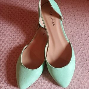 Shoes - Cute mint colored flats!