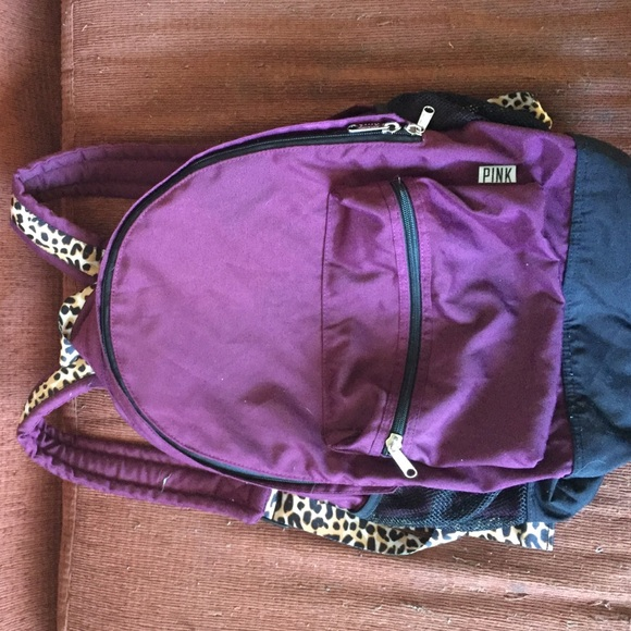 30% off PINK Victoria's Secret Handbags - VS Pink maroon and ...