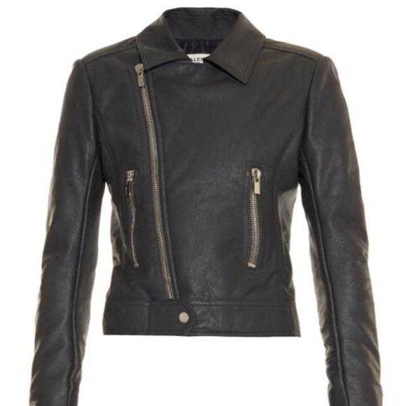 Balenciaga Jackets & Coats - Balenciaga dark grey motorcycle leather jacket