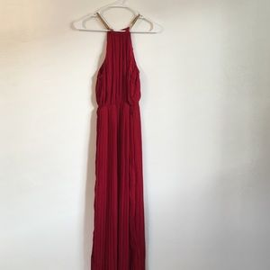 SheIn Dresses & Skirts - Pretty Crimson Red Floor Length Gown