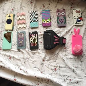 Accessories - iPhone 5/5s Cell Phone Case Bundle