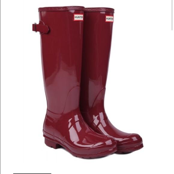 44 Off Hunter Shoes Iso Burgundy Or Damson Or Umber