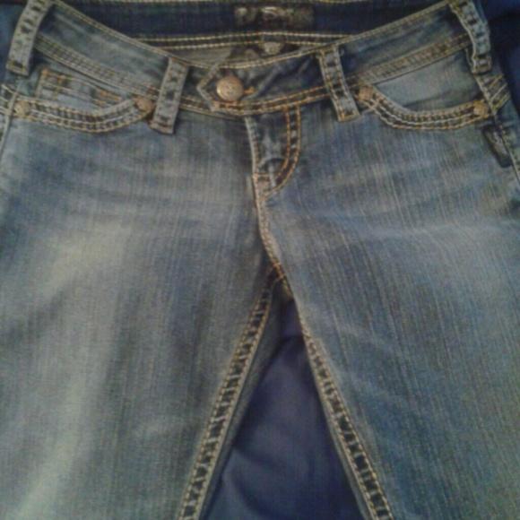 64% off Silver Jeans Denim - 2 pairs Silver jeans sz 6 petite ...