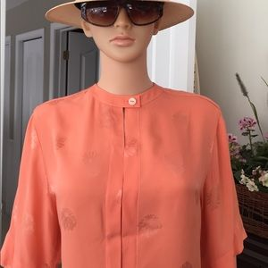 Karl Lagerfeld Tops - 💐KARL LAGERFELD  couture 100% silk blouse