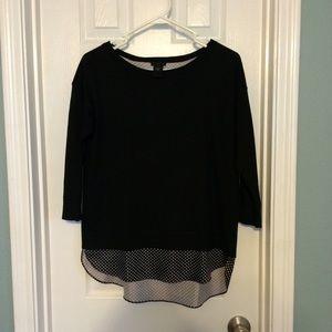 Ann Taylor Sweaters - Ann Taylor Polka Dot Sweater
