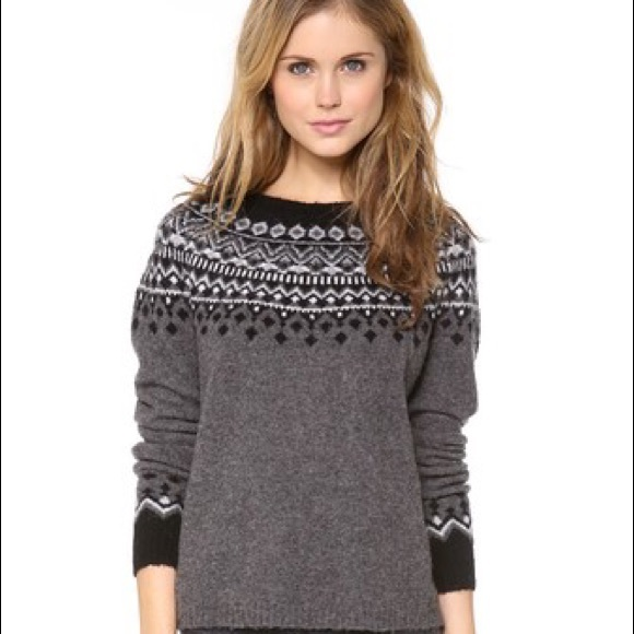 40% off Joie Sweaters - Joie Fair Isle Sweater from ! alexandra's ...