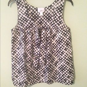 LOFT sleeveless blouse NWOT