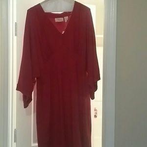 Bodice cut Sweater dress