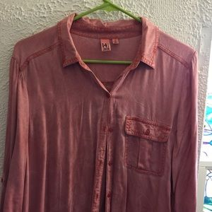 14th & Union Tops - NWOT Dusty Pink Button-Down
