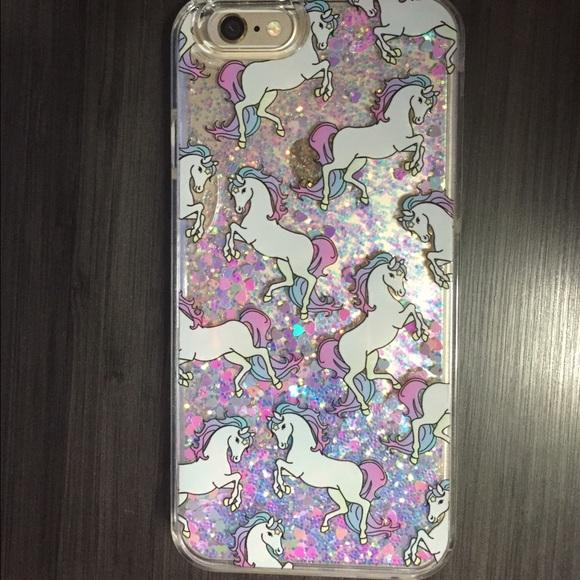 Skinnydip Glitter Unicorn iPhone 6 Case