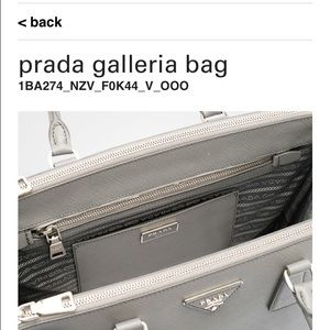 d70b1500c6af Prada Bags - PRADA Saffiano lux leather double zip tote purse