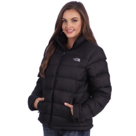good texture really cheap hot product The North Face Jackets & Coats   North Face Black Puffer Jacket ...
