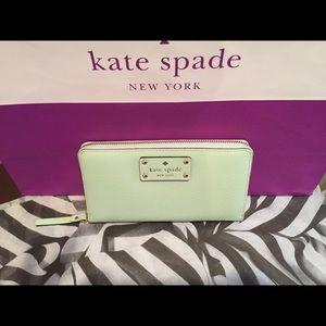 Kate Spade Wellesley Neda Zip-Around Wallet