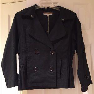 Brooklyn Industries Jackets & Blazers - BNWT BLACK LINEN JACKET size 8