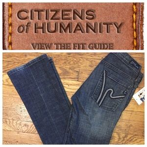 "Citizens of Humanity Denim - CITIZENS OF HUMANITY ""WIMBLEDON KELLY"" DENIM"