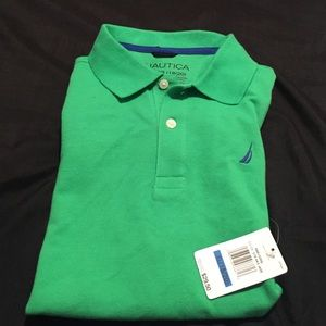 Nautica two button collared shirt