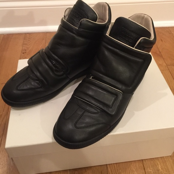 Maison Martin Margiela Leather High-Top Sneakers free shipping wiki Z5GdBMeO