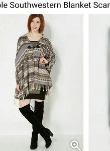 Jackets & Blazers - Blanket Scarf Cardigan
