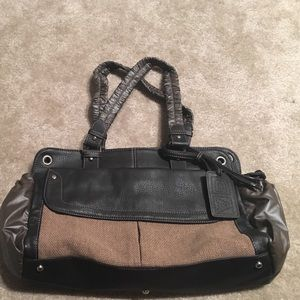 Adolfo Dominguez Handbags - Adolfo Dominguez brown leather purse