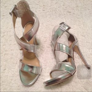 Chinese Laundry Silver Heels