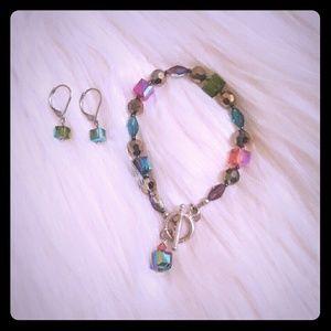 Emily Ray Crystal Star Earrings 40