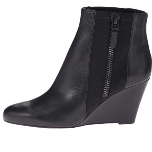 65 via spiga shoes via spiga wedge bootie from