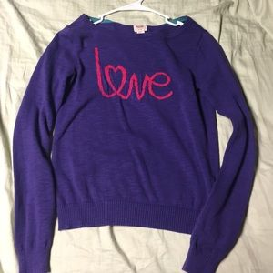Target sweater! Comfy and cute