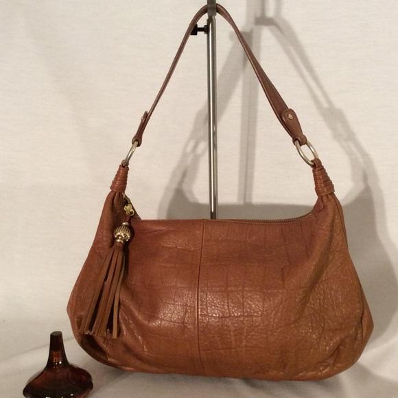 89% off Sigrid Olsen Handbags - Sigrid Olsen brown soft leather ...