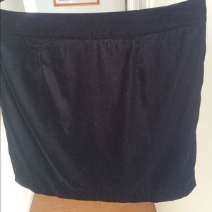 GAP Skirts - GAP black velvet mini